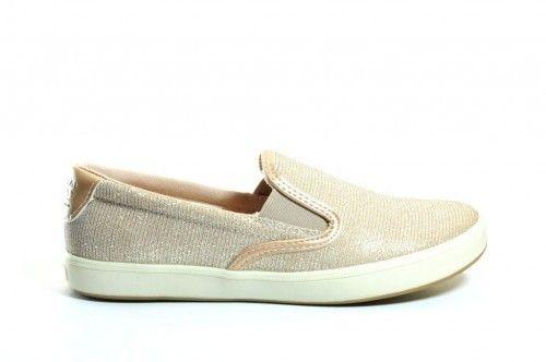 Loafers Dames Licht Beige