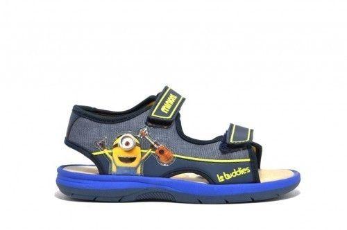 Minions Sandalen Blauw
