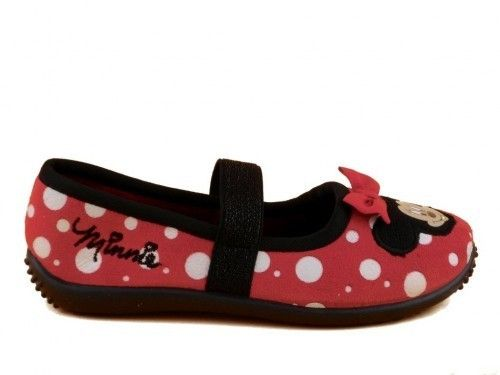 Minnie Mouse Pantoffel Rood