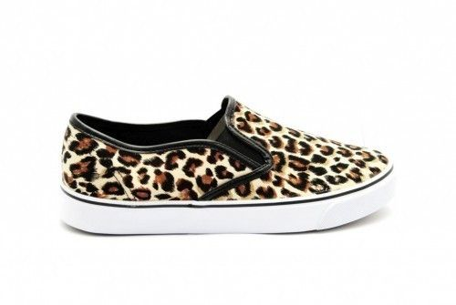 Mocassin Leopard Fashion