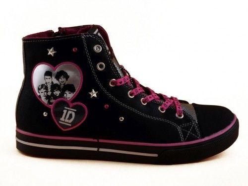 One Direction Sneaker Zwart
