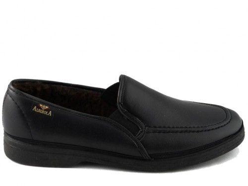 Pantoffel Heren Zwart Gekleed Alberola