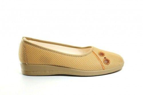 Pantoffels Zomer Beige Dames