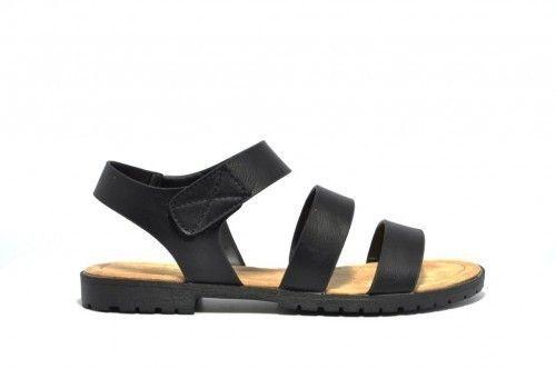 Platte Sandalen Dames Zwart