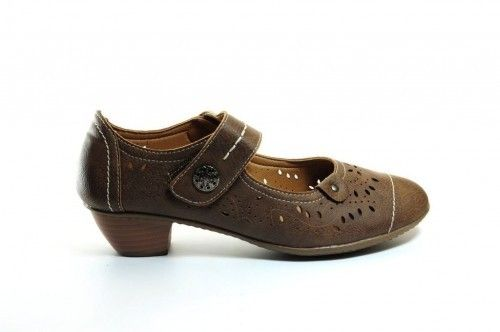 Pump Comfort Brown