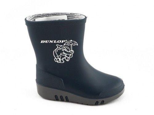 Rubber Laarzen Kinderen Blauw Dunlop