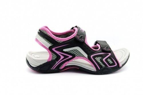Sandalen Sportief Zwart Fuxia