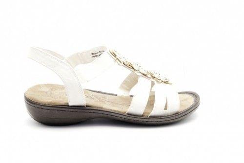 Sandalen Wit Comfort