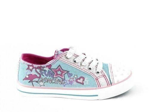 Sneaker Glitter Turquoise