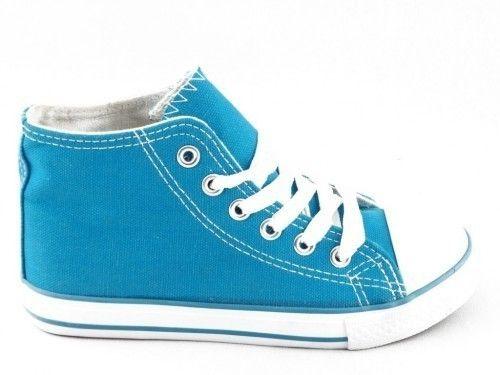 Sneaker Turquoise Hoog Kinderen X Dream