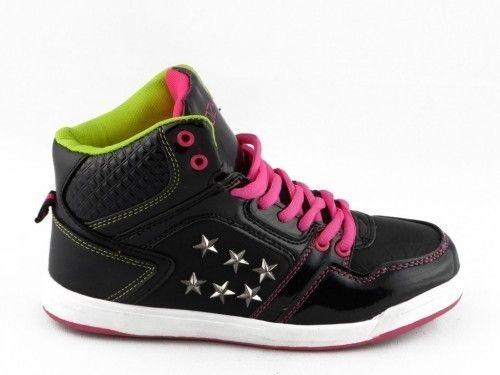 Sneaker Zwart Fluo Kinderen