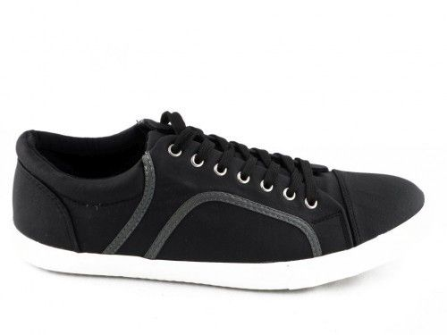 Sneaker Zwart Leoss