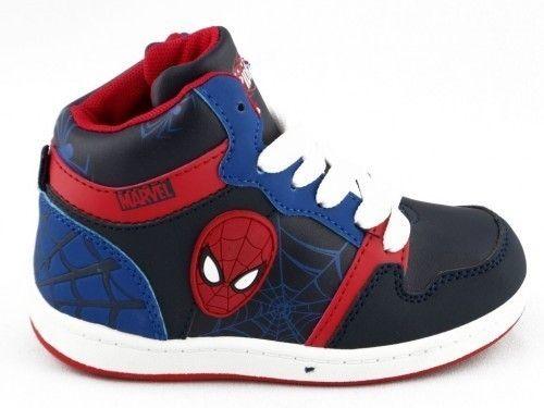 Spiderman Basket Blauw