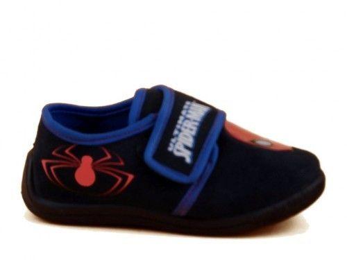 Spiderman Pantoffels Donkerblauw