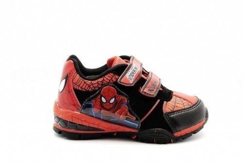 Spiderman Velcro Schoenen Met Lichtjes