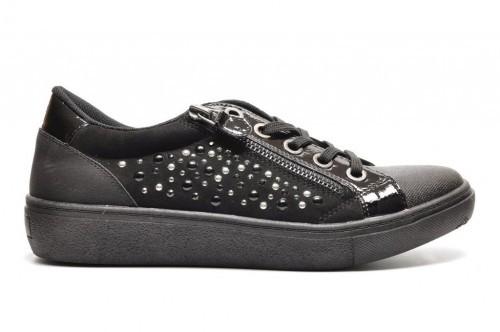 Sprox Zwarte Sneakers Volledig