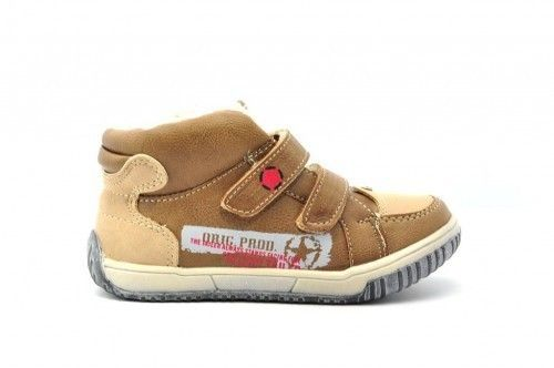 Warme Kinderschoenen Bruin