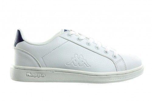 Witte Sneaker Kappa Blauw