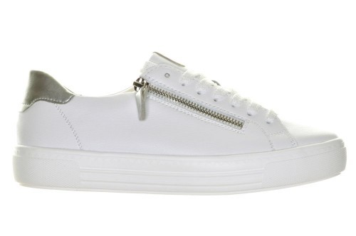 Witte Sneakers Remonte Rits