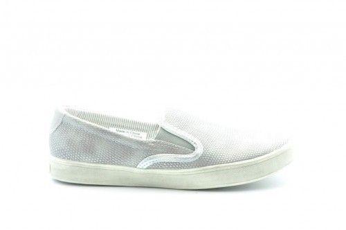 Zilver Grijs Loafers Dames
