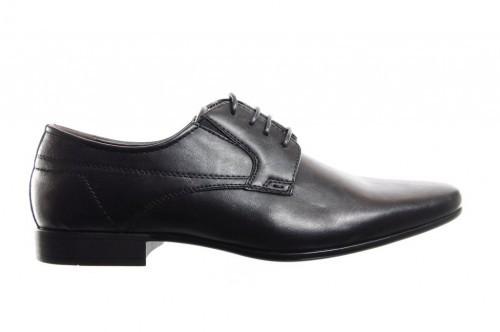 Zwarte Geklede Herenschoen Met Veter - Nette schoenen ...