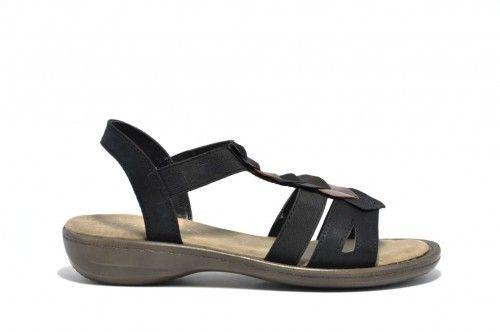 Zwarte Sandalen Comfortabel