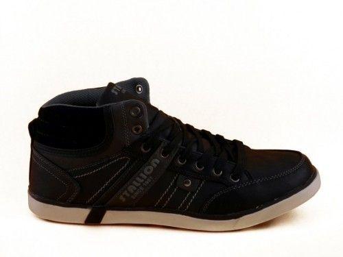 Zwarte Veterschoenen Basket