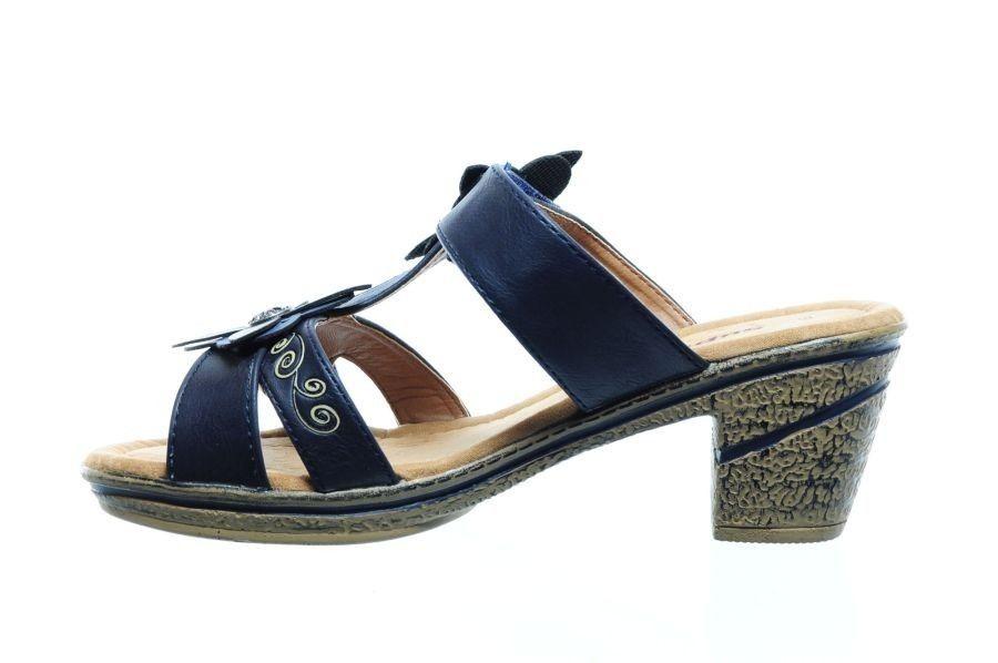 Chaussure À Talon Bleu RLAVo