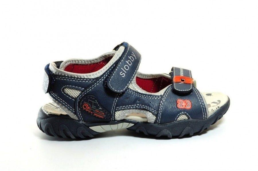 Jongens Kinderschoenen.Blauwe Sandalen Jongens Kinderschoenen Modashoes Nl