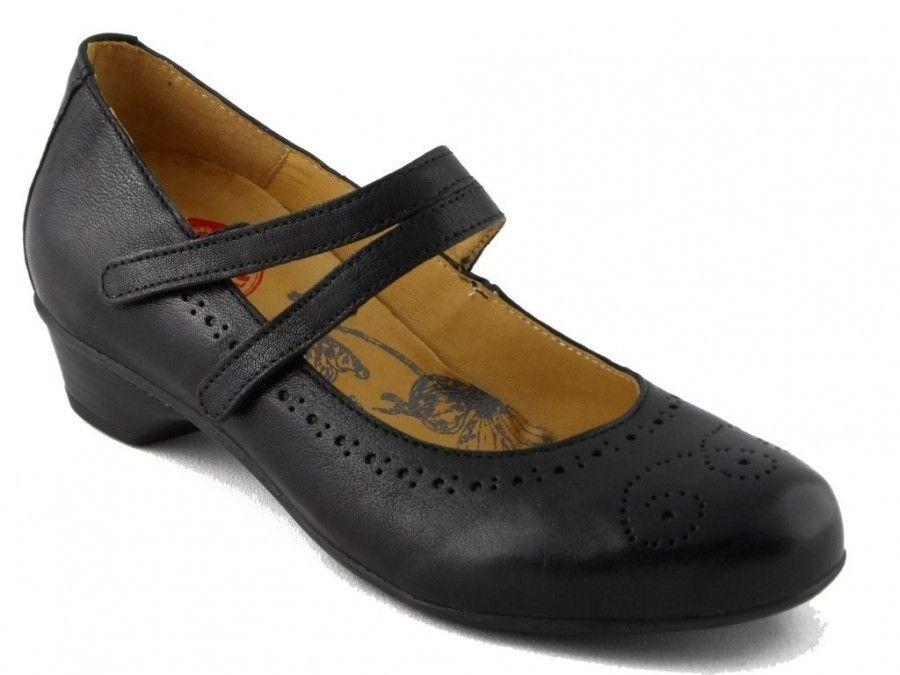 Brako Femmes De Confort De Chaussure Noire qUmgGxPH