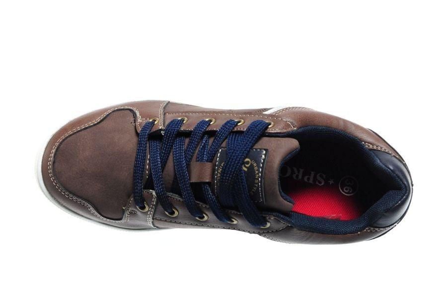 Bruine Kinderschoenen.Bruine Jongens Sneakers Sprox Merken Kinderschoenen Modashoes Nl