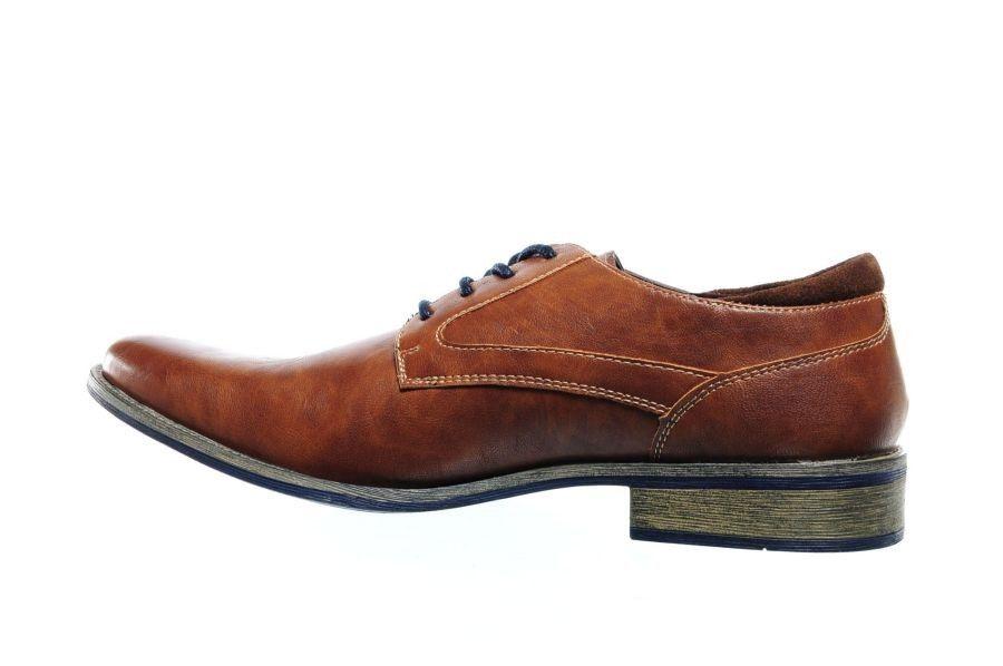 Chaussures À Lacets De Cognac À Semelles Bleues rTbscy