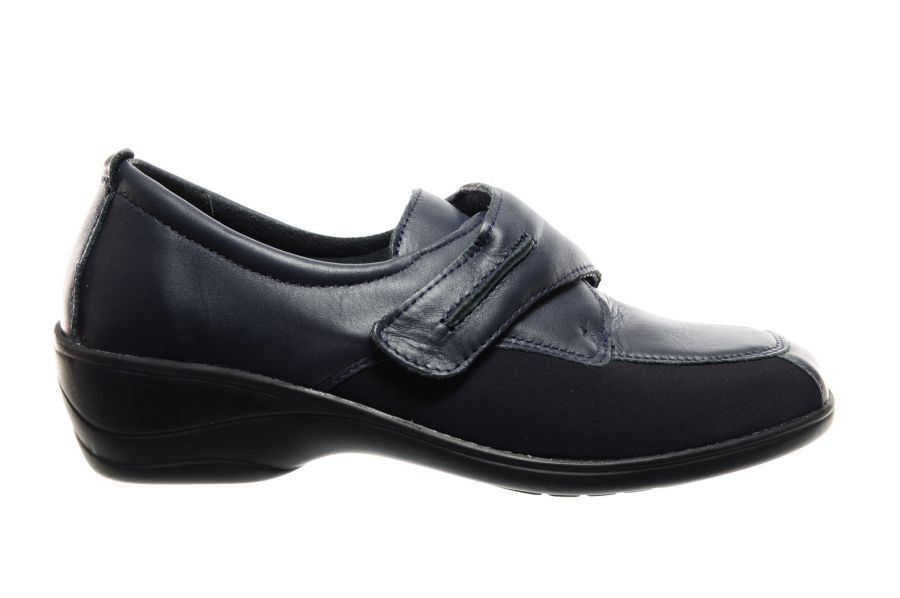 Chaussures Orthopédiques Femmes Bleu Lycro iqnRPp
