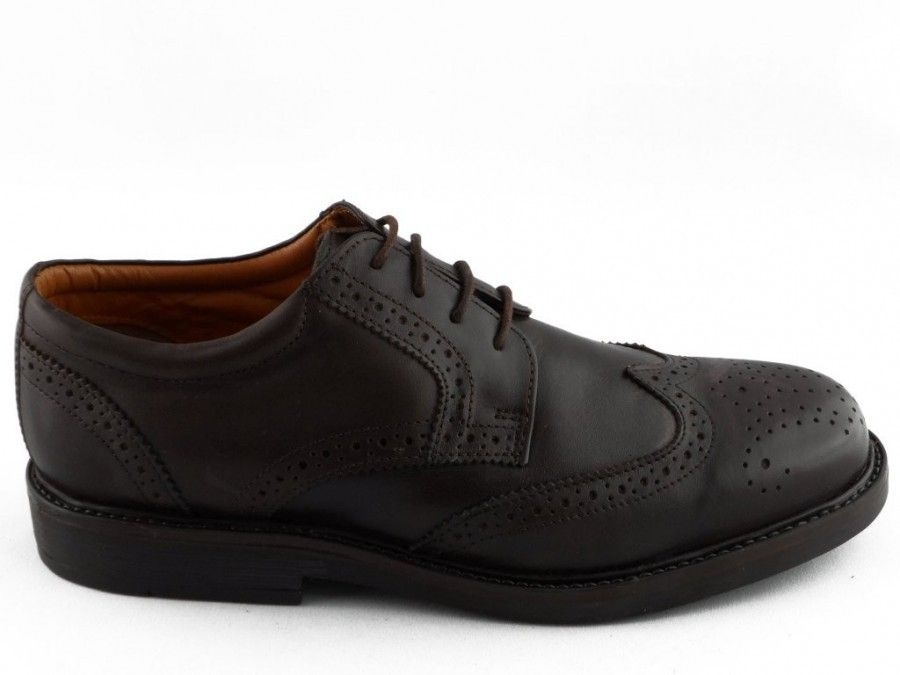 Brun Chaussure Homme En Cuir Brooks Tous Cooper mN6DSf