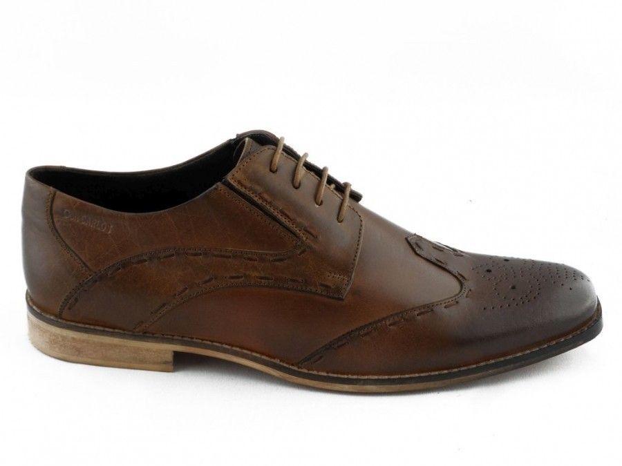 4961c0a6d68 Herenschoen Bruin Veter Gekleed Don Carlos - Nette schoenen ...
