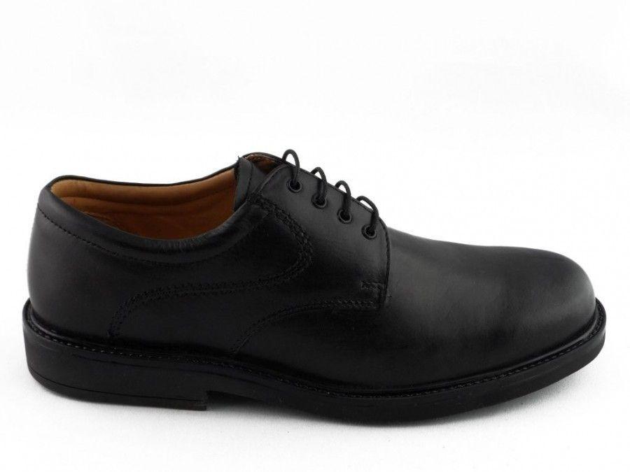 Chaussure Dentelle Noire Masculin Classique Tous Cooper nWxKn1or
