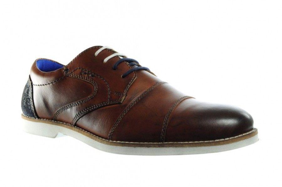 Chaussures Pour Hommes Bruns Semelles Blanches Cpf0qt