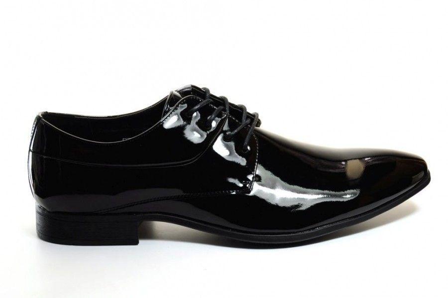 Chaussures Hommes Verni Noir xSkPvJau