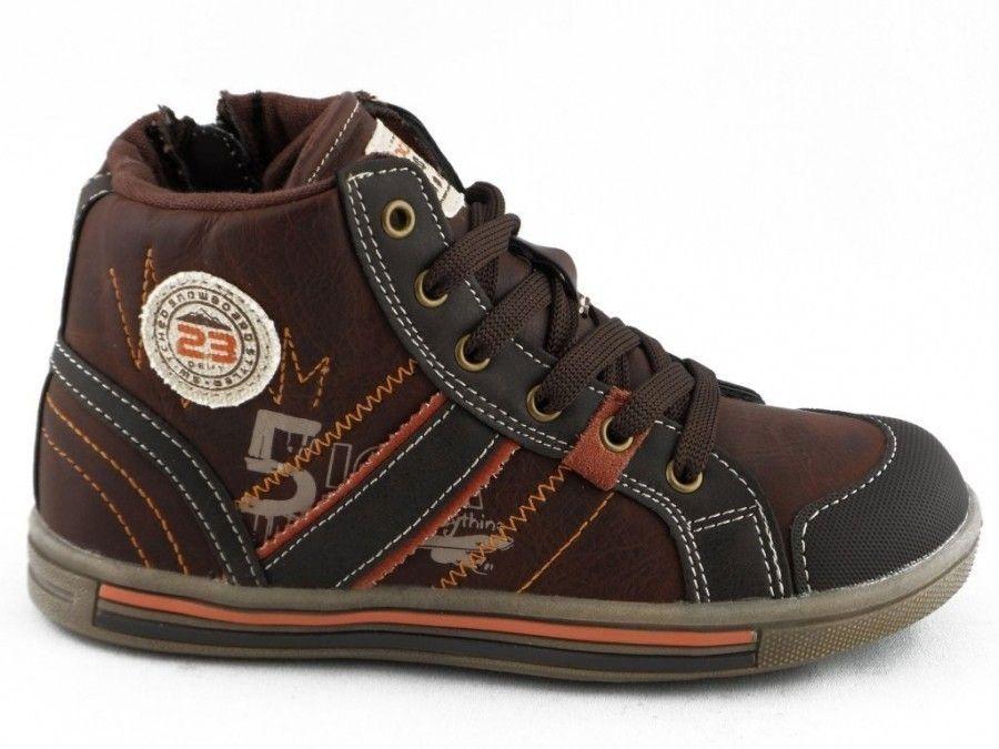 Bruine Kinderschoenen.Kinderschoen Basket Bruin Spirit Kinderschoenen Modashoes Nl