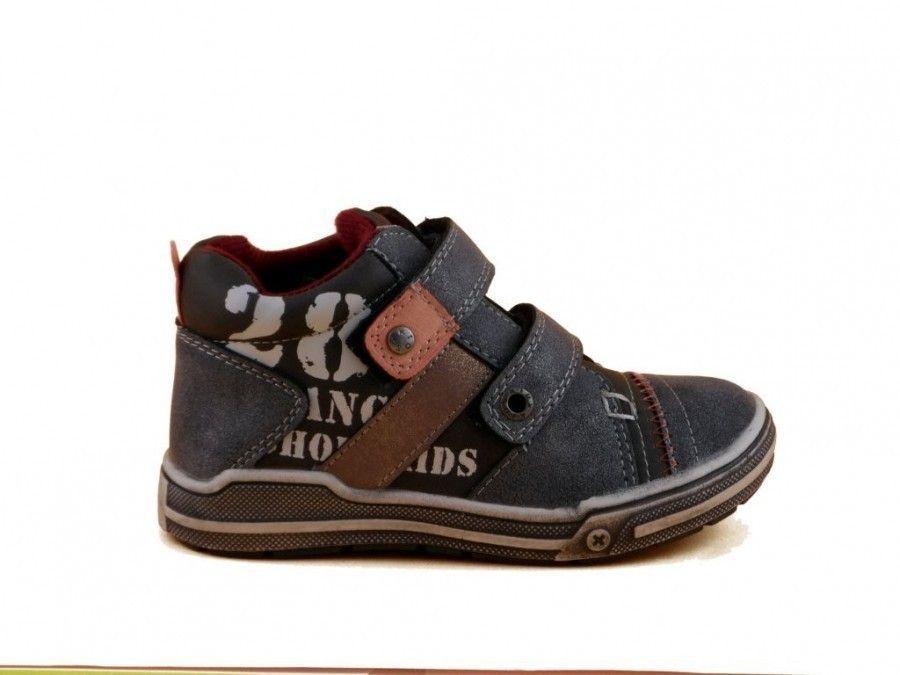 Jongens Kinderschoenen.Kinderschoenen Jongens Velcro Grijs Kinderschoenen Modashoes Nl