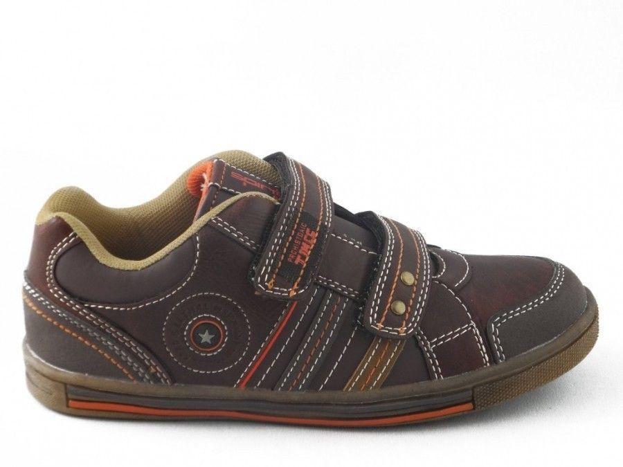 Bruine Kinderschoenen.Kinderschoenen Velcro Bruin Kinderschoenen Modashoes Nl