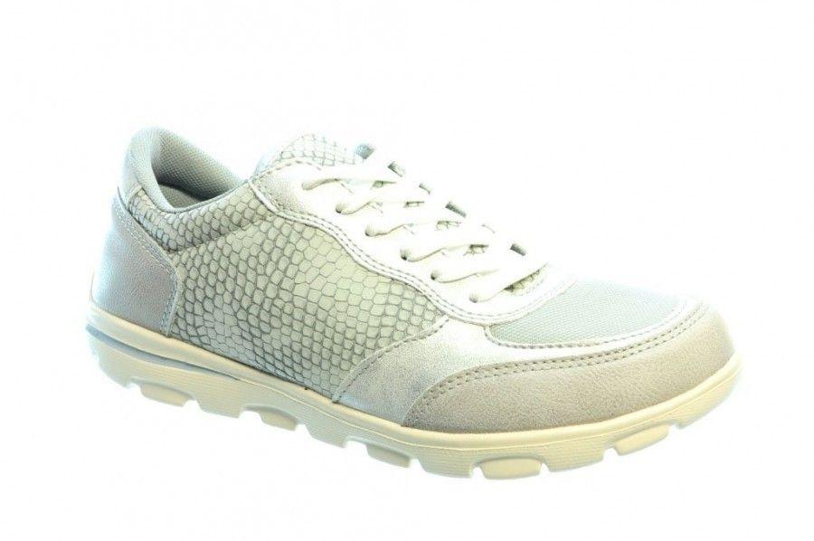 Sneakers Met Licht : Licht grijze sneaker snake sprox merken damesschoenen