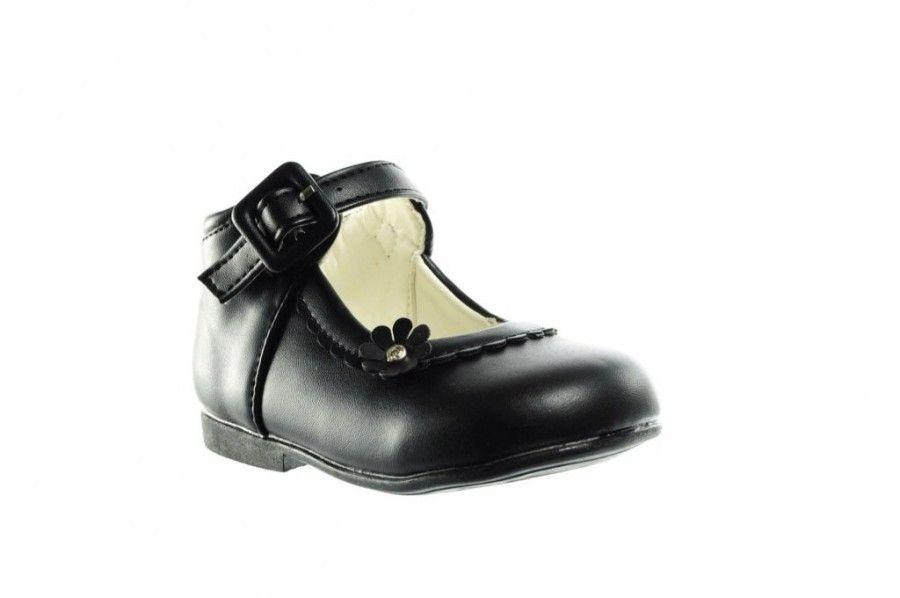 Kinderschoenen Voor Meisjes.Meisjes Schoenen Zwart Klassiek Kinderschoenen Modashoes Nl