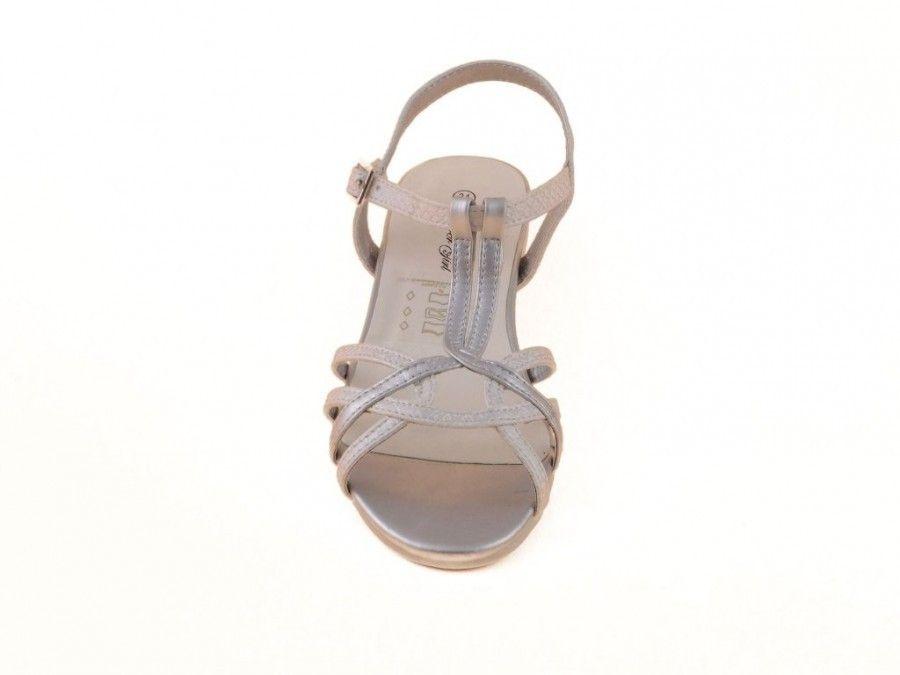 Sandales À Talons Fille Blanche t24Q7uTR