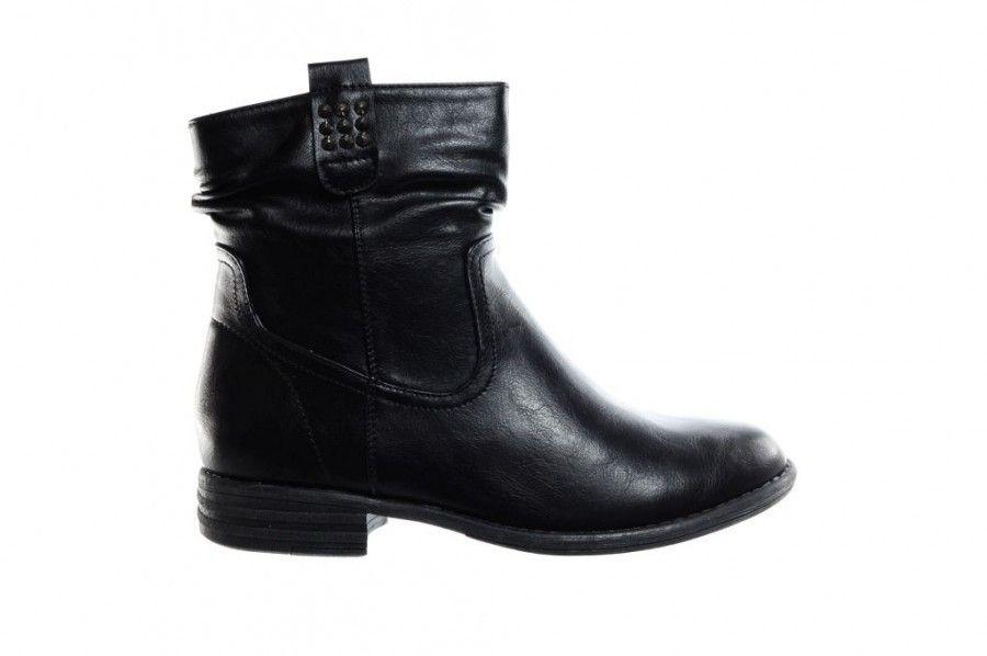 korte platte laarzen