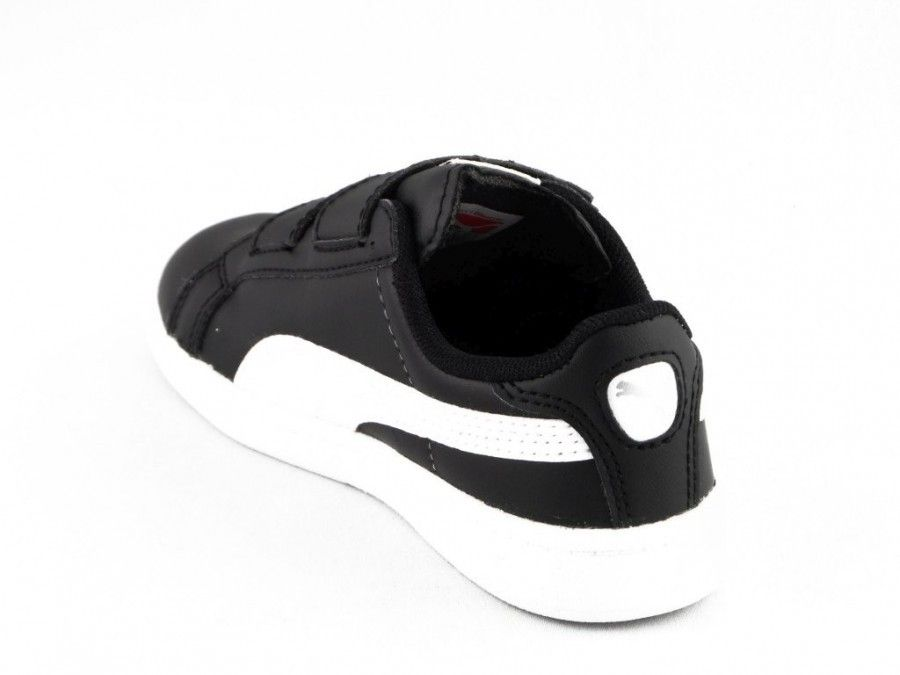 Puma Match Kids Zwart Wit Velcro
