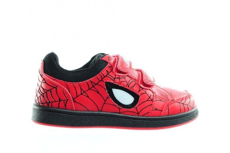 Schoenen Kinderschoenen.Rode Spiderman Schoenen