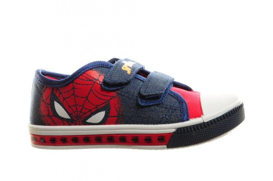 c78d5d51a8f Spiderman Canvas Lichtjes Schoen Jongens Velcro - Schoenen met ...