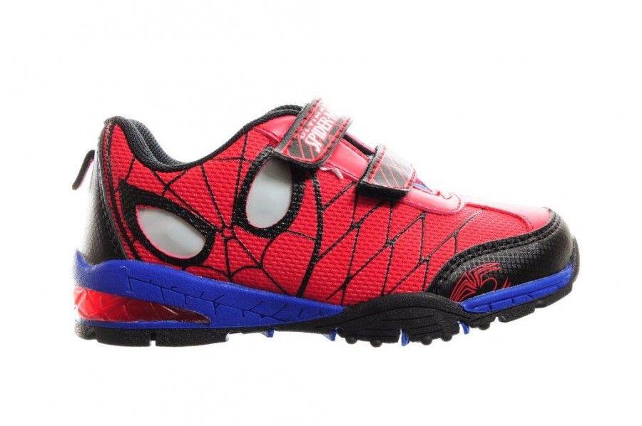 spiderman schoen met lichtjes in de ogen - schoenen met lichtjes