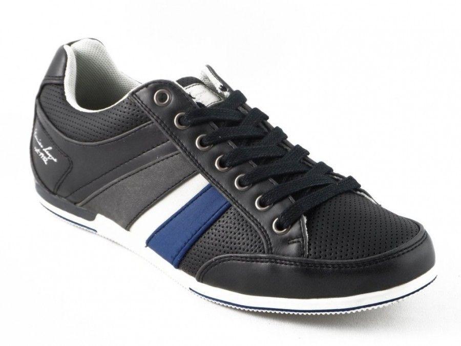 Hommes De Chaussures En Dentelle De Compétences Noir qEqyrJ